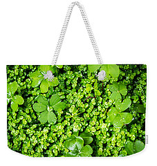 Lush Green Soothing Organic Sense Weekender Tote Bag