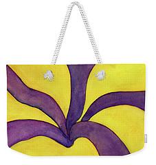 Closeup Of Yellow Rose Weekender Tote Bag