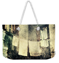 Clothes Hanging Weekender Tote Bag