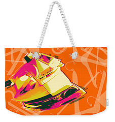Clothes Iron Pop Art Weekender Tote Bag