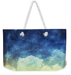 Cloud And Sky At Night Weekender Tote Bag