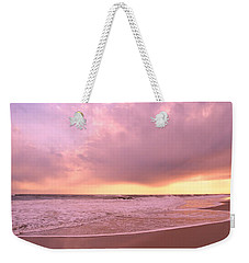 Cloud And Water Weekender Tote Bag by Karen Silvestri