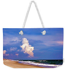 Weekender Tote Bag featuring the photograph Cloud Approaching by Roberta Byram