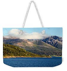Cloud-capped Mountains Weekender Tote Bag