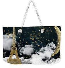 Cloud Cities Paris Weekender Tote Bag by Mindy Sommers