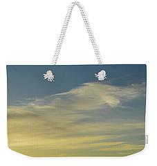 Cloud Composition  Weekender Tote Bag by Lyle Crump