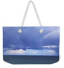 Weekender Tote Bag featuring the photograph Cloud Curtain by Nareeta Martin