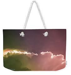 Cloud Eruption Weekender Tote Bag by Stefanie Silva