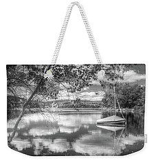 Weekender Tote Bag featuring the photograph Cloud Float by Betsy Zimmerli