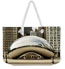 Cloud Gate - 3 Weekender Tote Bag by Ely Arsha
