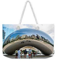 Cloud Gate Aka Chicago Bean Weekender Tote Bag