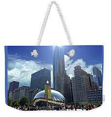 Cloud Gate In Chicago Weekender Tote Bag