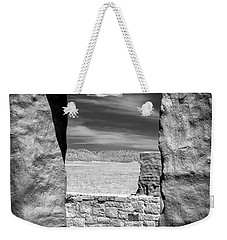Weekender Tote Bag featuring the photograph Cloud In The Window by James Barber