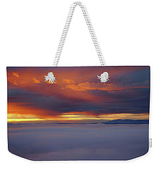 Cloud Layer Sunrise At Dead Horse Point State Park Weekender Tote Bag