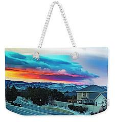 Cloud Magic Weekender Tote Bag