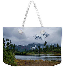 Cloud Mountain Weekender Tote Bag