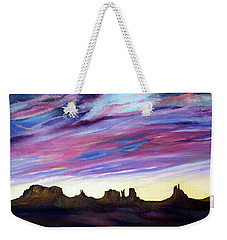 Cloud Movement Weekender Tote Bag