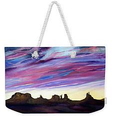 Cloud Movement Weekender Tote Bag