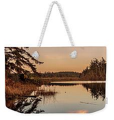 Cloud On Cranberry Lake Weekender Tote Bag