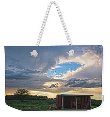 Cloud Portal Weekender Tote Bag