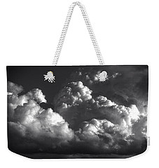 Cloud Power Over The Lake Weekender Tote Bag by John Norman Stewart