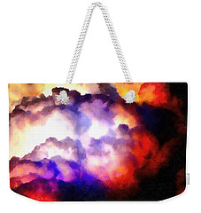 Cloud Sculpting 1 Weekender Tote Bag