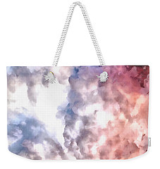 Cloud Sculpting 3 Weekender Tote Bag