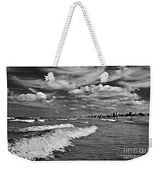 Cloud Sound Drama Weekender Tote Bag