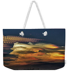 Cloud Stack Weekender Tote Bag