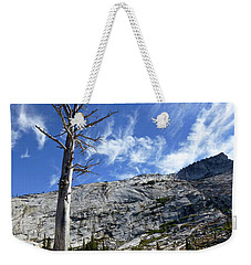 Cloud Stretch Lower Cathedral Lake Weekender Tote Bag