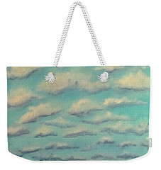 Cloud Study Cropped Image Weekender Tote Bag