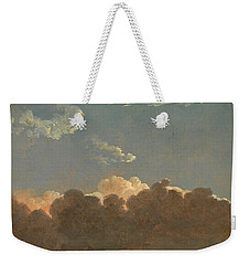 Cloud Study. Distant Storm Weekender Tote Bag by Simon Denis