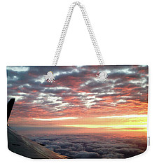 Cloud Sunrise Weekender Tote Bag