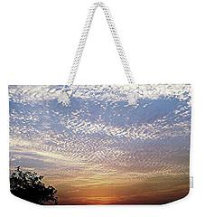 Cloud Swirl At Sunrise Weekender Tote Bag