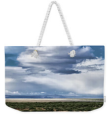 Cloud Traveling Over Open Ground Weekender Tote Bag
