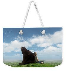 Cloud Watchers Weekender Tote Bag
