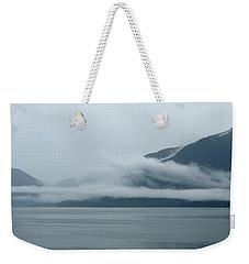 Cloud-wreathed Coastline Inside Passage Alaska Weekender Tote Bag