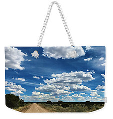 Clouddom Road Weekender Tote Bag