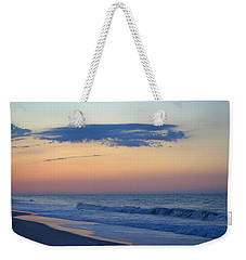 Weekender Tote Bag featuring the photograph Clouded Pre Sunrise by  Newwwman