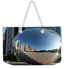 Cloudgate Reflects Weekender Tote Bag