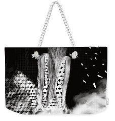 Weekender Tote Bag featuring the digital art Cloudland by Sladjana Lazarevic