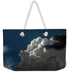 Weekender Tote Bag featuring the photograph Clouds 1 Society by Greg Mimbs