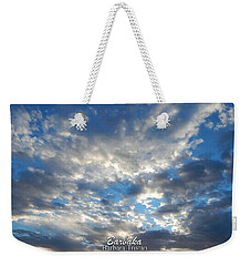 Clouds #4049 Weekender Tote Bag