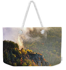 Clouds Above The Crest Of The Mountain Weekender Tote Bag