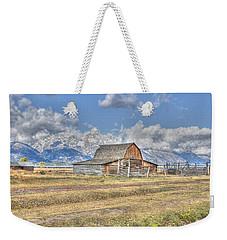 Clouds And Barn Weekender Tote Bag