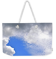 Clouds And Blue Skies Weekender Tote Bag by Tara Potts