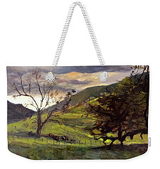Clouds And Cattle Weekender Tote Bag