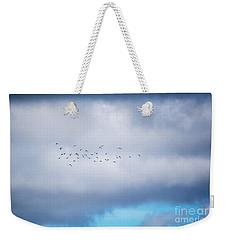 Clouds And Ducks Weekender Tote Bag