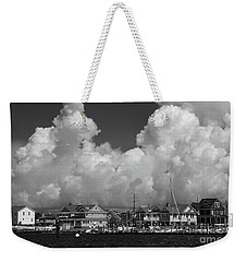 Clouds And Shore Houses Weekender Tote Bag