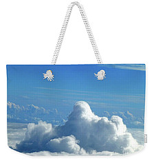 Weekender Tote Bag featuring the photograph Clouds And Sky M3 by Francesca Mackenney